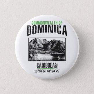 Dominica 2 Inch Round Button