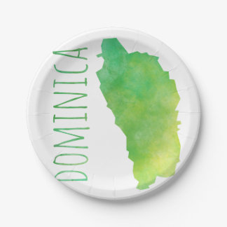 Dominica 7 Inch Paper Plate