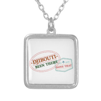 Dominica Been There Done That Silver Plated Necklace
