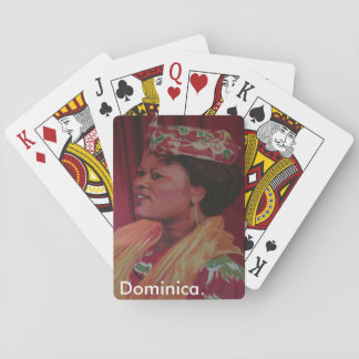Dominica/Dalith playing cards. Poker Deck