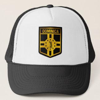 Dominica Emblem Trucker Hat
