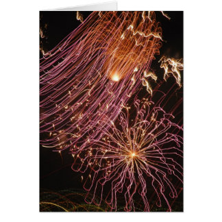 Dominica Fireworks 3 Card