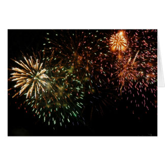 Dominica Fireworks 5 Card