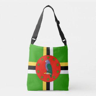 Dominica Flag Crossbody Bag