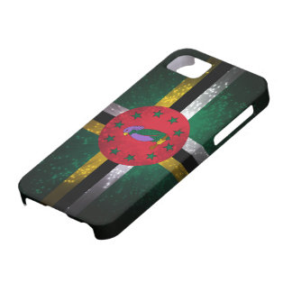 Dominica Flag Firework iPhone 5 Covers
