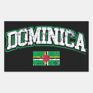 Dominica Flag Sticker