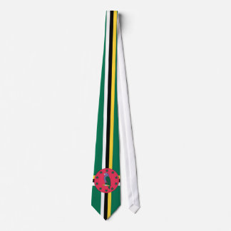 Dominica Flag Tie