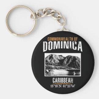 Dominica Keychain