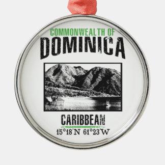 Dominica Metal Ornament