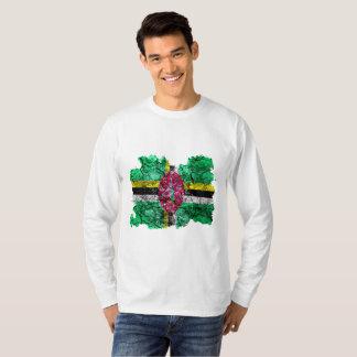 Dominica Vintage Flag T-Shirt
