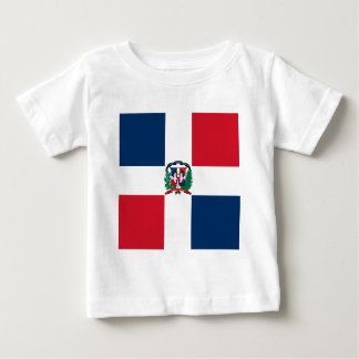 Dominican flag all over design baby T-Shirt