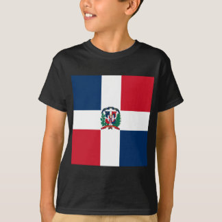 Dominican flag all over design T-Shirt