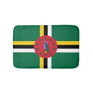 Dominican flag bath mat