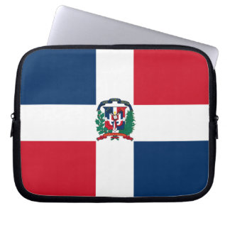 Dominican Flag Laptop Sleeve