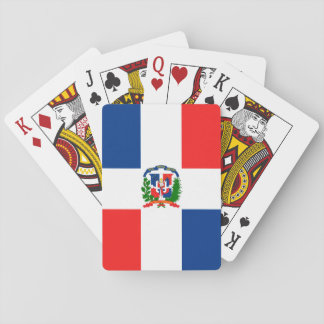 Dominican Flag Playing Cards