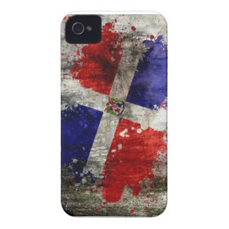 Dominican Flag Splash Blackberry case