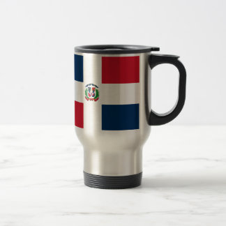 Dominican Flag Travel Mug