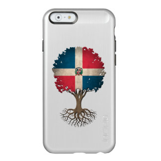Dominican Flag Tree of Life Customizable Incipio Feather® Shine iPhone 6 Case