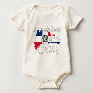 Dominican Girls Rock! Baby Bodysuit