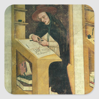 Dominican Monk at his Desk, from the Cycle of 'For Square Sticker