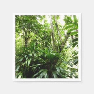 Dominican Rain Forest I Tropical Green Nature Napkin