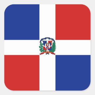 Dominican Rep. Flag Sticker