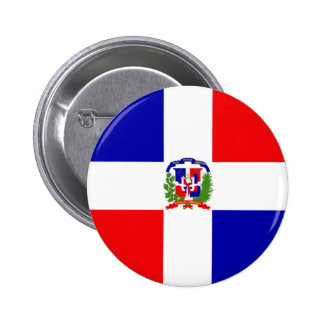 Dominican Republic 2 Inch Round Button