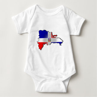 Dominican Republic Baby Bodysuit