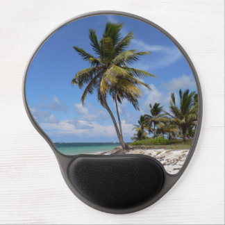 Dominican Republic beach Gel Mouse Pad