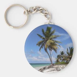 Dominican Republic beach Keychain
