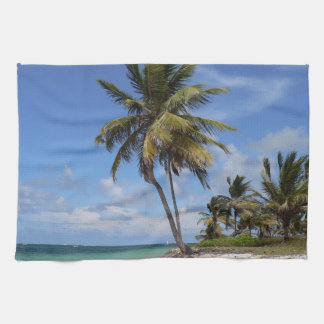 Dominican Republic beach Kitchen Towel