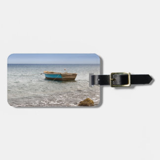 Dominican Republic Beach Luggage Tag