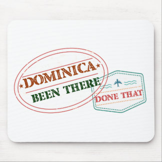 Dominican Republic Been There Done That Mouse Pad