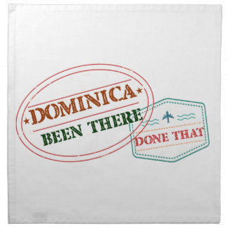 Dominican Republic Been There Done That Napkin
