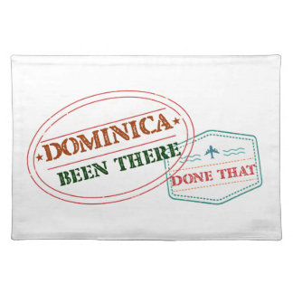 Dominican Republic Been There Done That Placemat