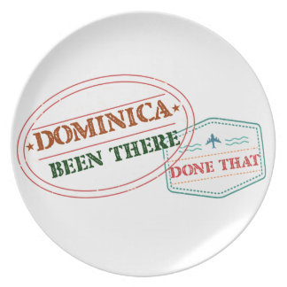 Dominican Republic Been There Done That Plate