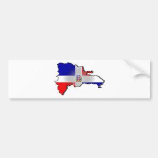 Dominican Republic Bumper Sticker
