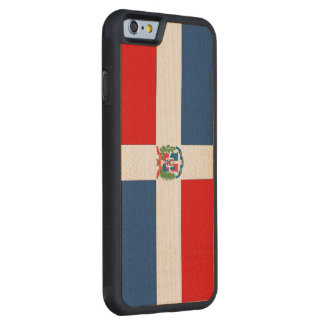 Dominican Republic Carved Maple iPhone 6 Bumper Case