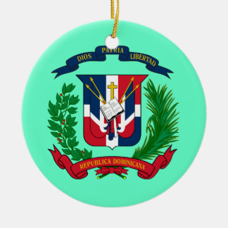 DOMINICAN REPUBLIC* Christmas Ornament