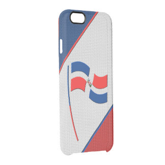 Dominican Republic Clear iPhone 6/6S Case
