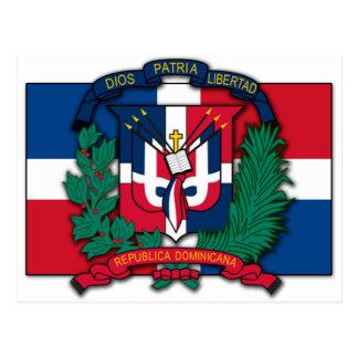 Dominican Republic Coat of Arms Postcard