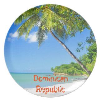 Dominican Republic Dinner Plates