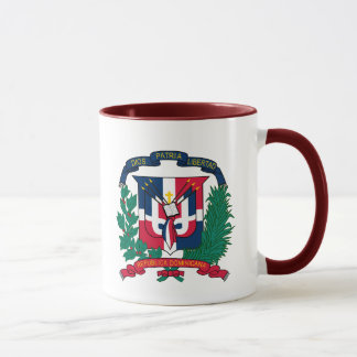 dominican republic emblem mug
