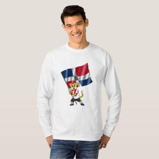 Dominican Republic fan cat T-Shirt