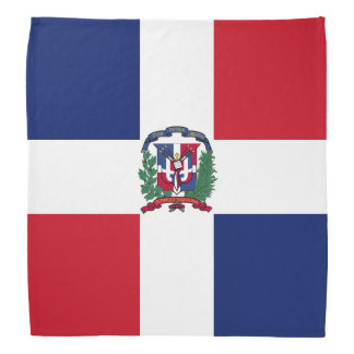 Dominican Republic Flag Bandana