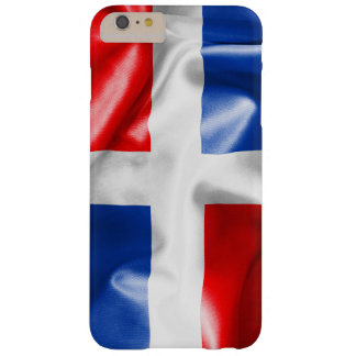 Dominican Republic Flag Barely There iPhone 6 Plus Case