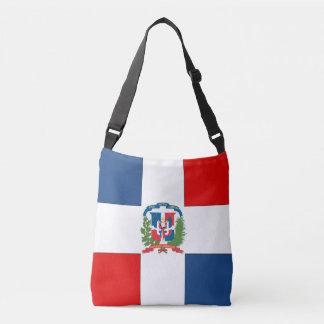 Dominican Republic Flag Crossbody Bag