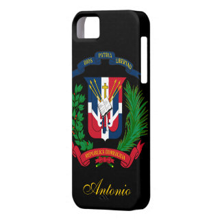 Dominican Republic Flag iPhone 5 Cases