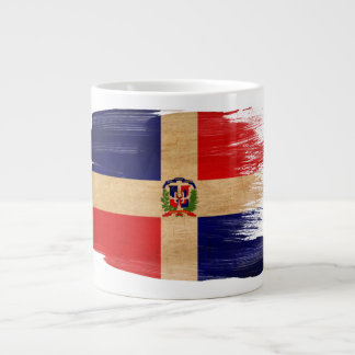 Dominican Republic Flag Large Coffee Mug
