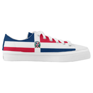 Dominican Republic Flag Low-Top Sneakers